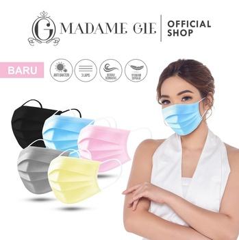 Madame Gie Safety You Face Mask - Masker Kesehatan - Pink  harga terbaik 25000