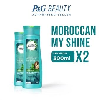 Herbal Essences Shampoo Moroccan My Shine 300 ml - Paket isi 2 harga terbaik 69800