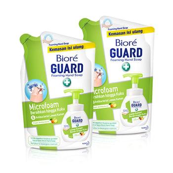 Biore Hand Soap Fresh Antiseptic Refill Duo harga terbaik