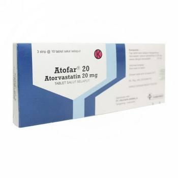 Atofar Tablet 20 mg  harga terbaik