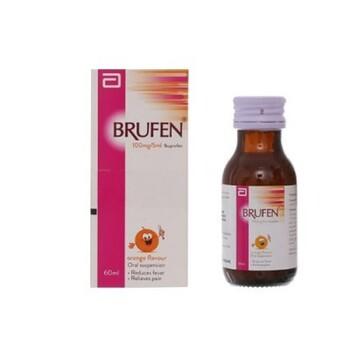 Brufen suspensi adalah obat untuk mengatasi demam, nyeri, dan peradangan pada anak.