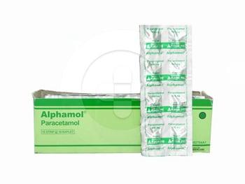 Alphamol kaplet adalah obat untuk meringankan nyeri ringan hingga sedang dan menurunkan demam.