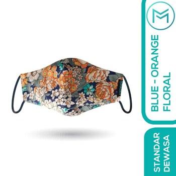 Maskit Masker Limited Edition - Dewasa Standar - Vintage Floral  harga terbaik