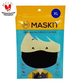 Maskit Masker Dewasa Ukuran XL - Navy  harga terbaik