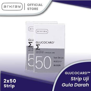 Glucocard Sigma Test Strips INT-general  harga terbaik 549900