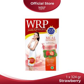 WRP Meal Replacement Strawberry 324 g harga terbaik 109500