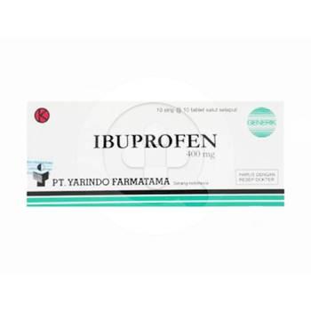 Ibuprofen Yarindo Tablet 400 mg  harga terbaik 42436
