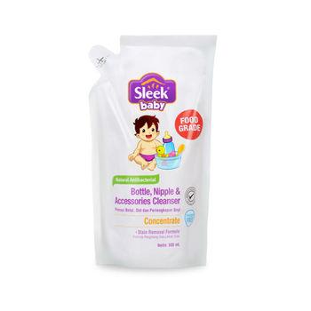 Sleek Bottle Nipple & Baby Accessories Cleanser 900 ml harga terbaik 56547