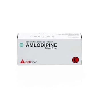 Amlodipine OGB Dexa Medica Tablet 5 mg  harga terbaik
