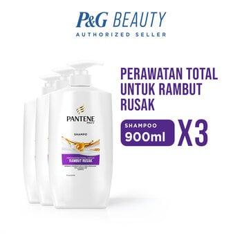 Pantene Shampoo Total Damage Care 900 ml - Paket isi 3 harga terbaik 292500