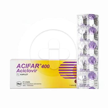 Acifar kaplet adalah obat untuk membantu mengatasi infeksi yang disebabkan oleh virus