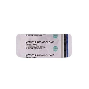 Methylprednisolone Tablet adalah obat untuk mengatasi asma bronkial