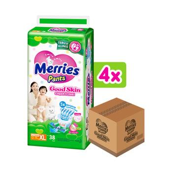 Merries Pants Good Skin XL 38'S - 1 Carton harga terbaik 376000