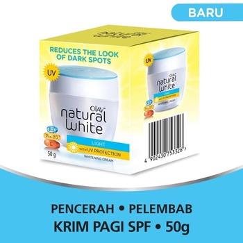 Olay Krim Pencerah - Natural White Light UV Protection 50 g harga terbaik