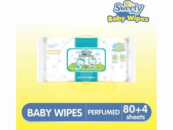 Sweety Baby Wipes Perfumed harga terbaik 16200