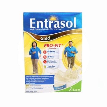 Entrasol Gold Rasa Vanilla 185 g harga terbaik 34028