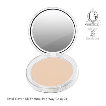 Madame Gie Total Cover Two Way Cake 01 harga terbaik 27000