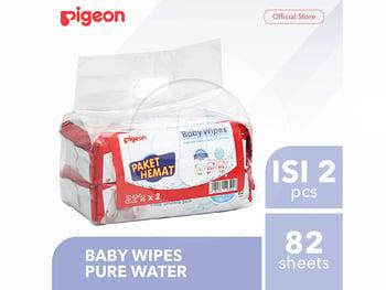 Pigeon Baby Wipes Pure Water  harga terbaik 65900