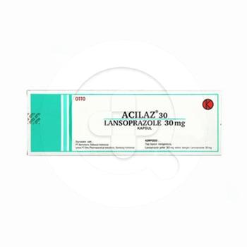 Arcilaz kapsul adalah obat untuk menurunkan produksi asam lambung yang berlebih.
