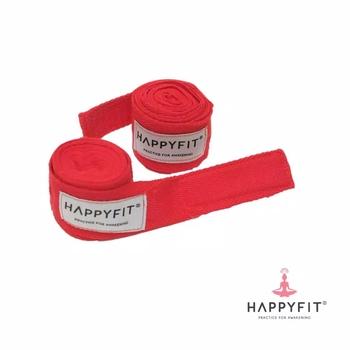 Happyfit Boxing Hand Wraps 274 cm - Red harga terbaik 90000