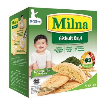 MIlna Baby Biscuit Kacang Hijau 130 g harga terbaik 15800