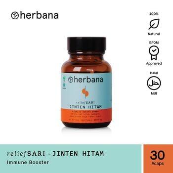 Herbana Relief Sari Jinten Hitam - 30 Kapsul harga terbaik 69000