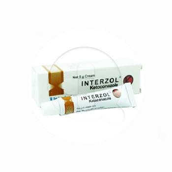 Interzol Krim adalah obat untuk gangguan kulit yang menyebabkan infeksi.