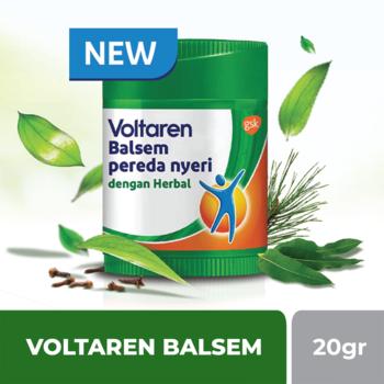 Voltaren Balsem Pereda Nyeri dengan Herbal 20 g harga terbaik