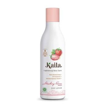 Kaila Natural Body Lotion 200 ml - Strawberry harga terbaik