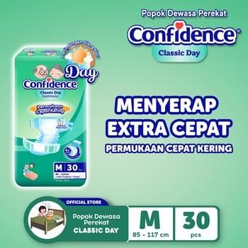 Confidence Popok Dewasa Classic Day M 30 harga terbaik