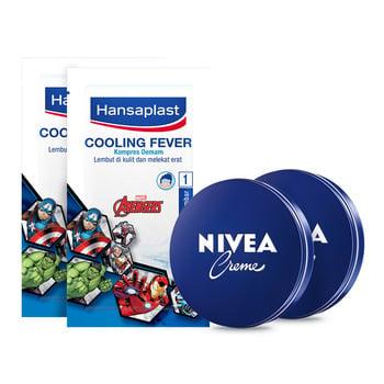 NIVEA x Hansaplast Touch and Care Kit - Avengers harga terbaik