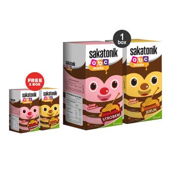 Paket Sakatonik ABC Madu Buy 2 Box Get 2 Box Free harga terbaik