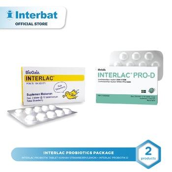 Interlac Probiotics Package Strawberry harga terbaik 751000
