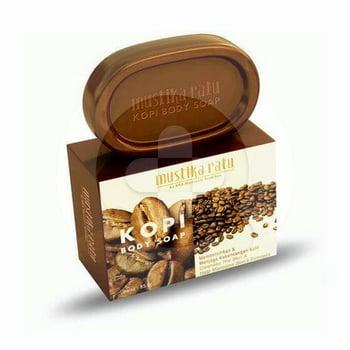 Sabun batang Mustika Ratu Body Soap Coffee Kopi 85 g