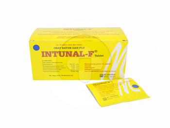 Intunal Forte tablet adalah obat untuk membantu meredakan gejala flu misalnya hidung tersumbat