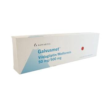 Galvusmet tablet 50 mg/500 mg sebagai terapi tambahan pasien diabetes melitus tipe 2.