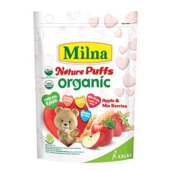 Milna Nature Puffs Organic - Apple & Mix Berries