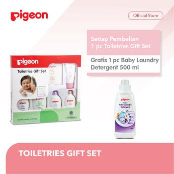 Pigeon Toiletries Gift Set - Free LLD 500 ml Bottle harga terbaik