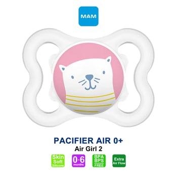 MAM Pacifier PCF Air 0 Plus Months - Dot Bayi - Girl 2 harga terbaik 59162