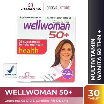 Vitabiotics Wellwoman 50+ Tablet  harga terbaik 279000