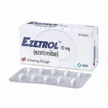 Ezetrol tablet digunakan untuk menurunkan kadar kolesterol total
