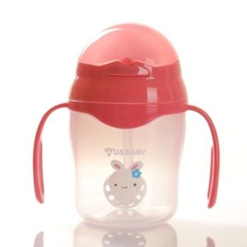 US Baby Straw Training Cup 150 ml - Pink harga terbaik 168000