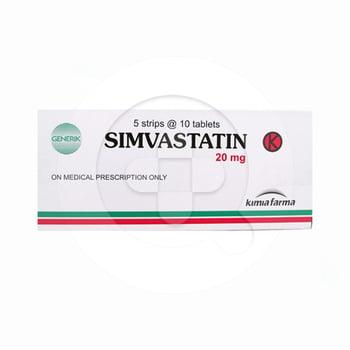 Simvastatin Kimia Farma Tablet 20 mg  harga terbaik 5804