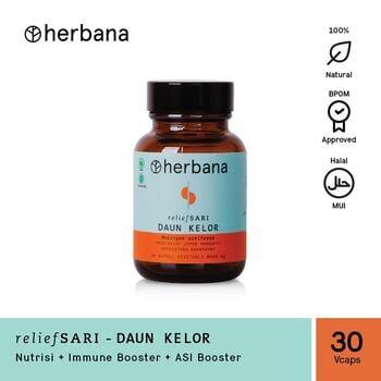 Herbana Relief Sari Daun Kelor - 30 Kapsul harga terbaik 69000