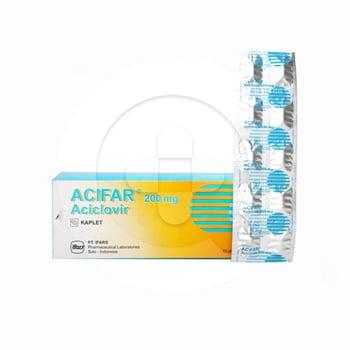 Acifar Kaplet 200 mg (10 Strip @ 10 Kaplet)