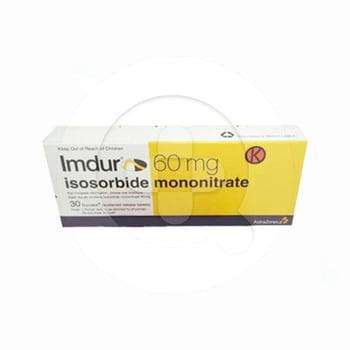 Imdur tablet adalah obat untuk mengatasi nyeri dada (angina) pada pasien dengan penyakit jantung
