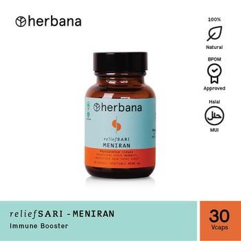 Herbana Relief Sari Meniran - 30 Kapsul harga terbaik 69000