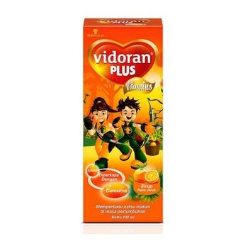 Vidoran Plus Syrup 100 ml harga terbaik