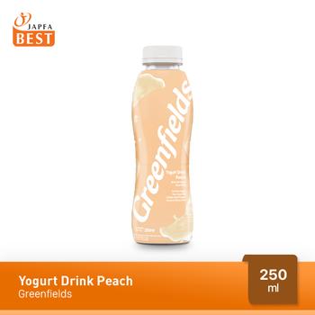 Greenfields Yogurt Drink Peach 250 ml harga terbaik