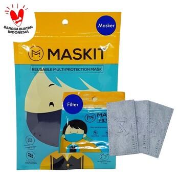 Maskit Paket Filter & Masker  harga terbaik